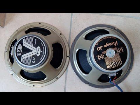 Celestion Vintage 30 Vs Celestion V-Type