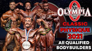 Classic Physique OLYMPIA 2021 - All Qualified Bodybuilders screenshot 2