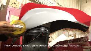 How to make a fiberglass mold for a custom motorcycle tank