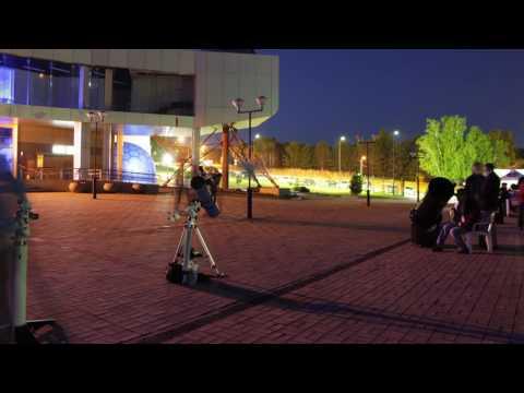 видео: Планетарий таймлапс