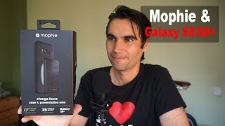 Mophie Charge Force case y Power Station Mini para Galaxy S8 / S8 Plus | review en español