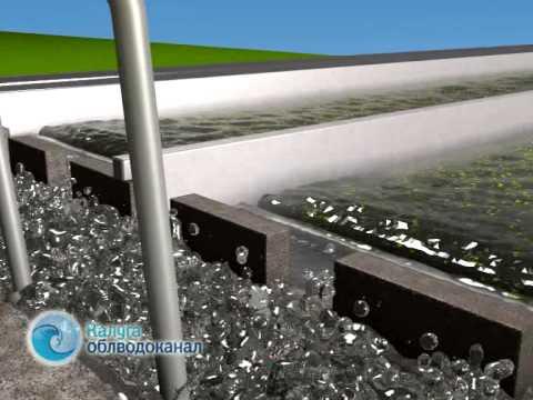 Очистка сточных вод на водоканале