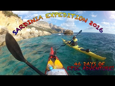 Sea Kayak Expedition Around Sardinia...