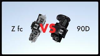Nikon zfc vs Canon 90d // Comp…