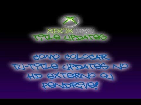 Como colocar tu title updates no hd externo ou pendrive for Hd esterno xbox 360
