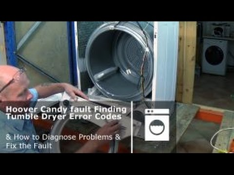 How to service a hoover candy condenser tumble dryer