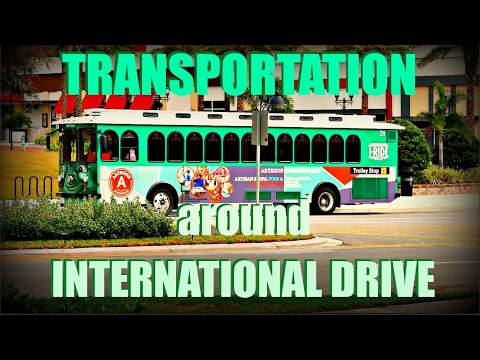 TRANSPORTATION AND PRICES - INTERNATIONAL DRIVE TO THEME PARKS - ORLANDO