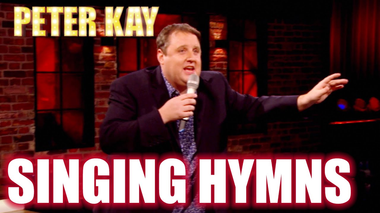 Peter Sings Hymns On The Late Late Show   Peter Kay