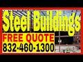 Steel Buildings   Commercial Metal Building Contractor Costs Houston TX