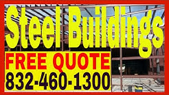 Steel Buildings | Commercial Metal Building Contractor Costs Houston TX