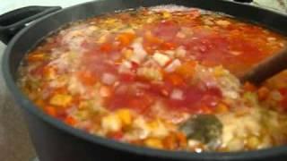 Farm Soup - Vegetable With Bacon/ham Hocks