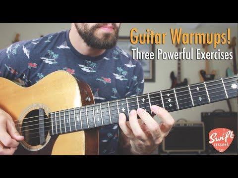 Three Beginner Guitar Exercises for Speed & Dexterity