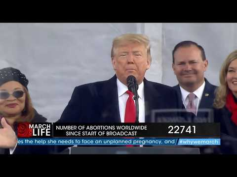 President Trump March