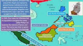 Past and Present Historical Chronology of royal Sultanate of Sulu and North Borneo kingdom P2.wmv