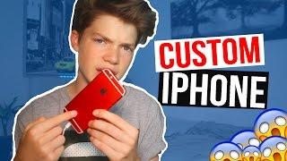 WHAT'S ON MY CUSTOM iPHONE?!