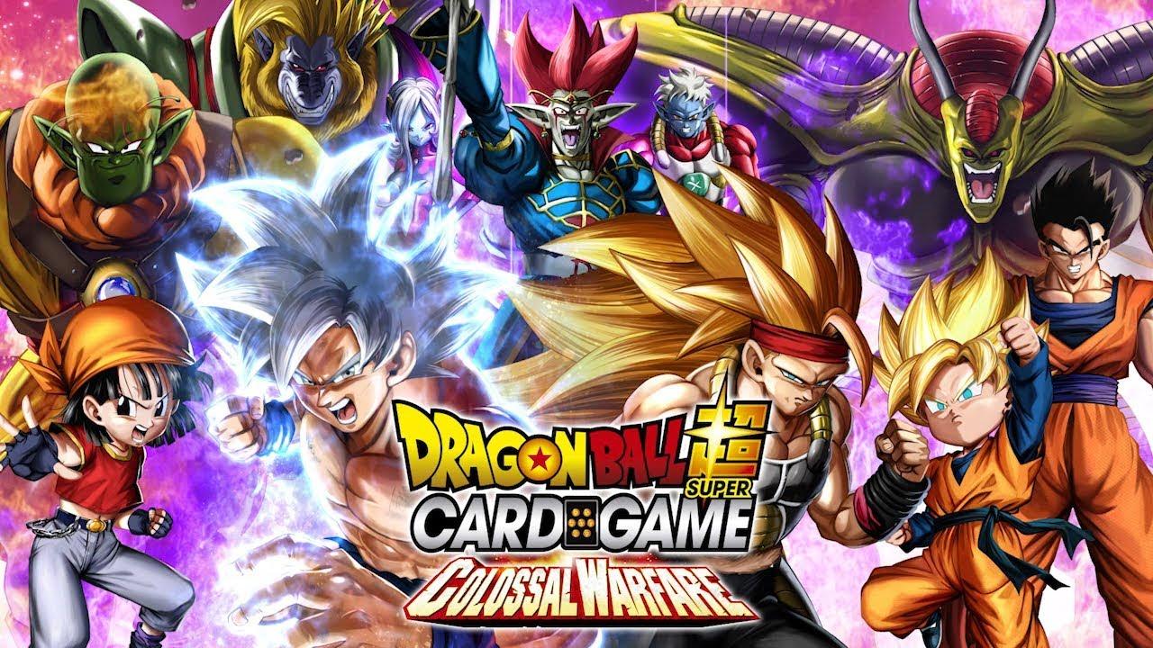 Dragon Ball Super Series 4 Colossal Warfare TCG Booster Box