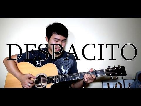 Luis Fonsi Ft. Justin Bieber - Despacito (Fingerstyle Cover) | LYRICS