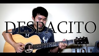 Luis Fonsi ft. Justin Bieber - Despacito (Fingerstyle cover) | LYRICS