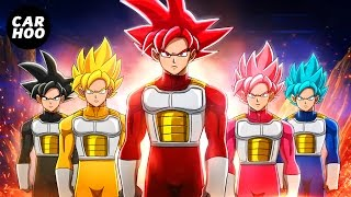 GOKU SAIYAN RANGERS 【 Dragon Ball Super & Power Ra...
