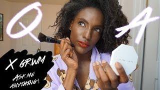 Q&A/GRWM: Modeling Advice, Being Dark Skinned, Taking Digitals