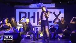 MILA J performance at PHLEXTRAVAGANZA 2017