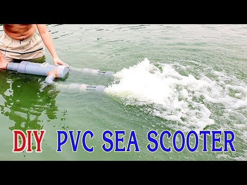 How To Make Sea Scooter At Home Using PVC Pipe - V2