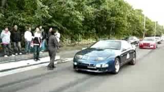 ドラッグレースタイムトライアル Z32 バーンアウト