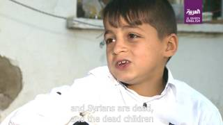 Syrian boy selling tissue packs in Izmir sings for Aleppo