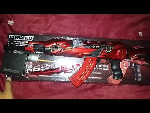 REAL LIFE AK47 SUPER ALLOY CRISIS ACTION GAME #UNBOXING AIRSOFTGUN MADE IN CHINA
