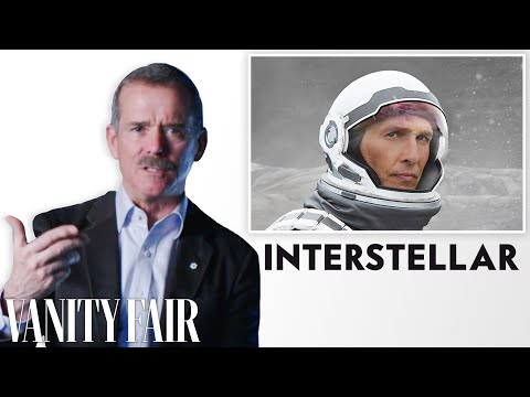 Astronaut Chris Hadfield Reviews Space Movies, from 'Gravity' to 'Interstellar' | Vanity Fair