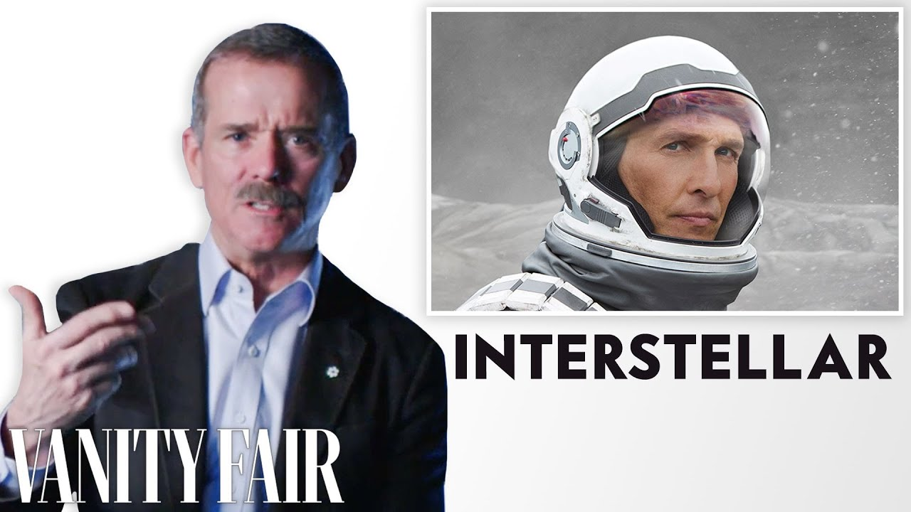 Astronaut Chris Hadfield Reviews Space Movies, from ...