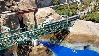東武ワールドスクエア 鉄道模型 東武特急リバティ&スペーシア Japanese garden railway model in Tobu World Square Nikko Japan