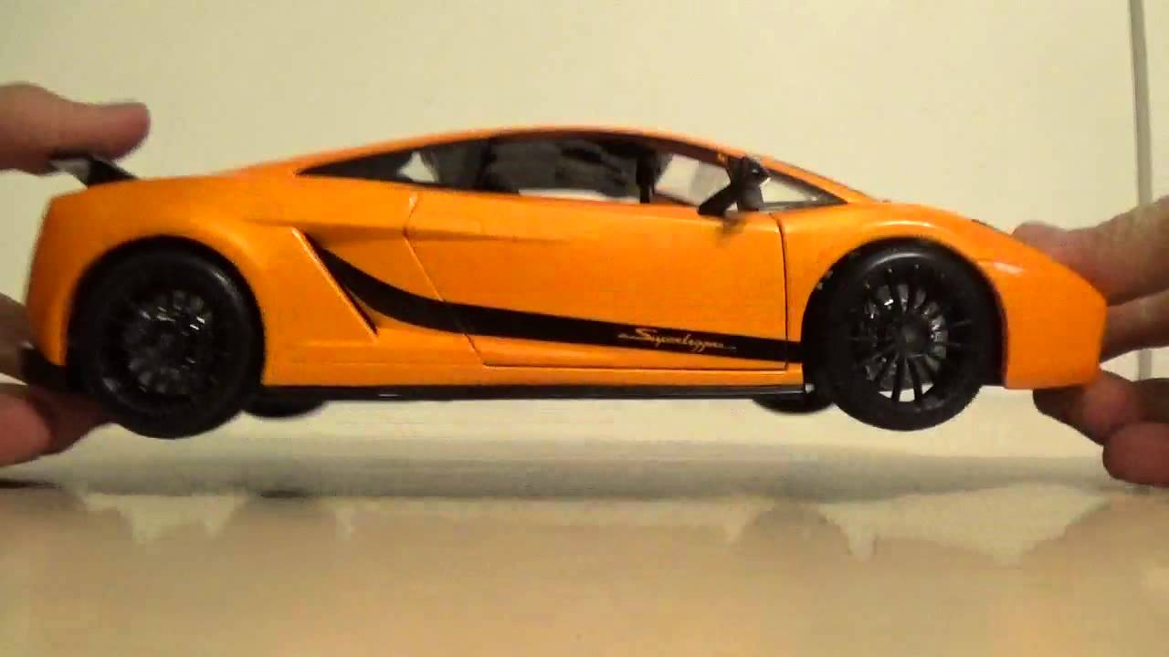 Review 1 18 Lamborghini Gallardo Superleggera Maisto Youtube