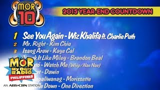 mor 101 9 biga10 the top 10 songs of 2015