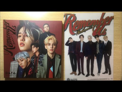 Unboxing DAY6 4th Mini Album Remember Us: Youth Part2 (Fast Forward Vers)