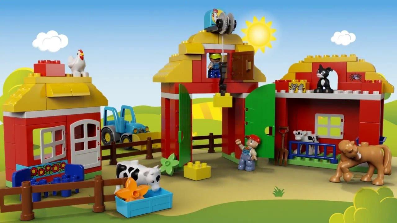 Lego ферма. Официальная продукция от lego. Демонстрационный зал в киеве. Звоните ☎ (044) 451-54-52.