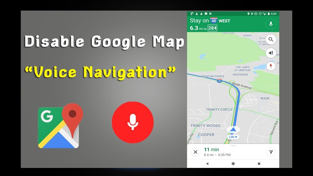 How To Turn On Disable Voice Navigation On Google Maps Also