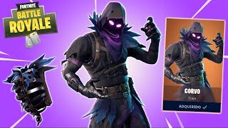 I BOUGHT the NEW SKIN CORVO and WE DID 21 KILLS! -Fortnite Battle Royale ‹ Lunatico ›