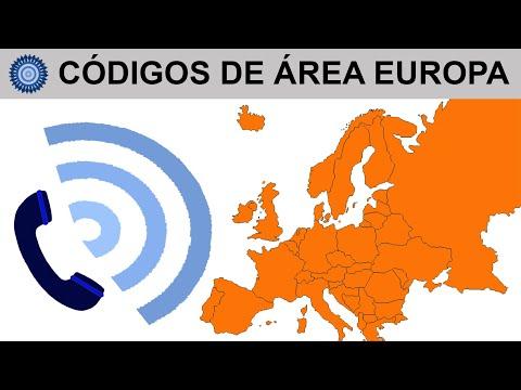 CÓDIGOS DE ÁREA EUROPA, LLAMAR A EUROPA