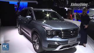 Chinese automaker unveils new concept car at Detroit auto show