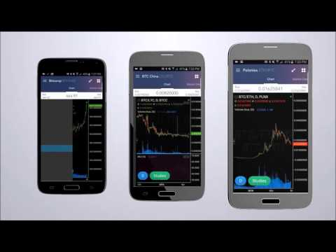 Bitcoin & Altcoin Trader For Android by Coinigy Inc