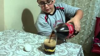 Alperen PINAR Kola'nın zararları deneyi