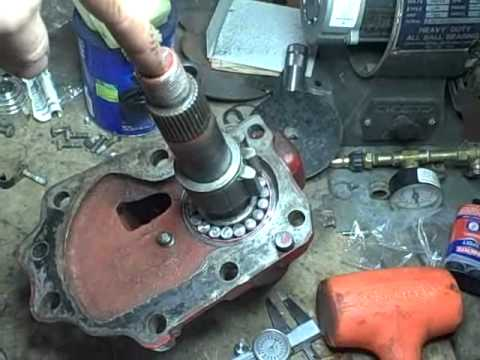 Ih 350 Utility Tractor Project Part 36 Youtube
