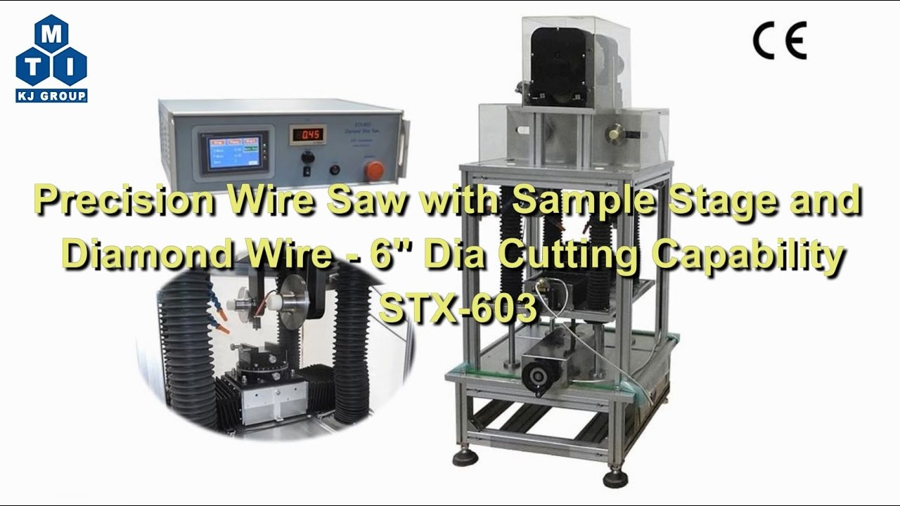 Mti Wire Saw Center Power To The Duraspark Module 1983 1984 Ranger Bronco Ii 39plugn Precision With Sample Stage And Diamond 6 Dia Rh Youtube Com