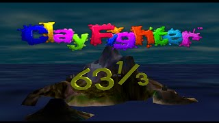 Nintendo 64 Longplay [016] ClayFighter 63 1/3