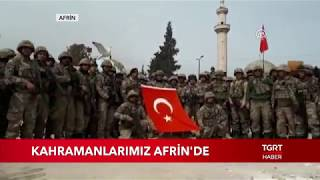 Mehmetçikten Afrin de Komando Andı Zeytin Dalı Harekatı