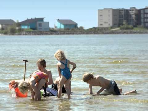 Strandurlaub in Holland: Beach Resort Makkum