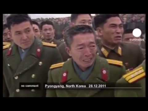 I Put Spongebob Music Over Kim Jong Ils Funeral (Sweet Victory)