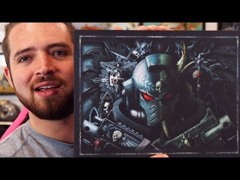 Warhammer40k Limited Edition Unboxing! (8th Edition)