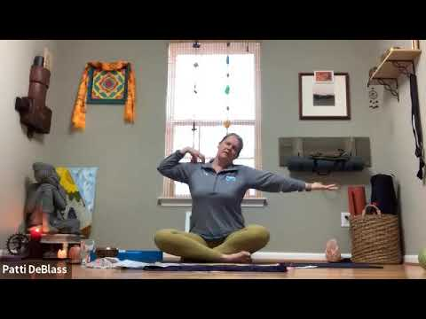 Yoga for Stress Reduction with Patti - 50 Minutes